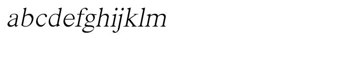 Shree Oriya 3008 Italic Font LOWERCASE