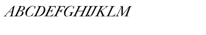 Shree Punjabi 1788 Italic Font UPPERCASE