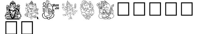 Shree Symbol 0232 Regular Font UPPERCASE