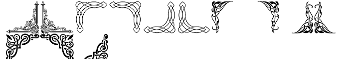 Shree Symbol 0239 Regular Font LOWERCASE