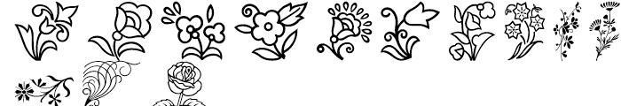 Shree Symbol 0242 Regular Font UPPERCASE