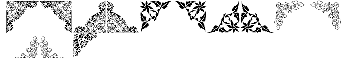 Shree Symbol 2150 Regular Font UPPERCASE