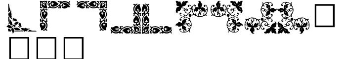 Shree Symbol 2150 Regular Font LOWERCASE