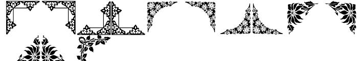 Shree Symbol 2151 Regular Font UPPERCASE
