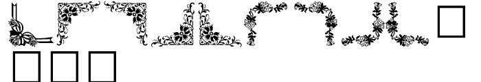 Shree Symbol 2151 Regular Font LOWERCASE