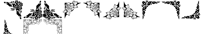Shree Symbol 2153 Regular Font UPPERCASE