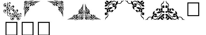 Shree Symbol 2153 Regular Font LOWERCASE