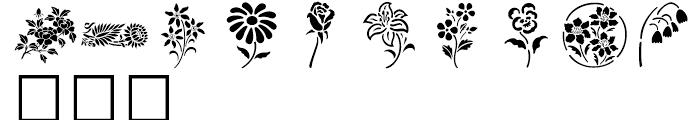 Shree Symbol 2154 Regular Font UPPERCASE