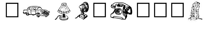 Shree Symbol 2155 Regular Font OTHER CHARS