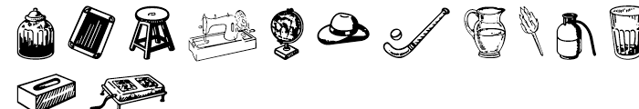 Shree Symbol 2155 Regular Font LOWERCASE