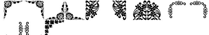 Shree Symbol 2156 Regular Font UPPERCASE