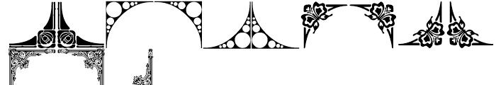 Shree Symbol 2156 Regular Font LOWERCASE