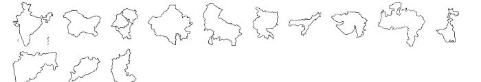 Shree Symbol 2157 Regular Font UPPERCASE