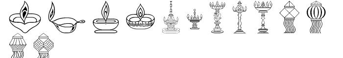 Shree Symbol 2159 Regular Font UPPERCASE