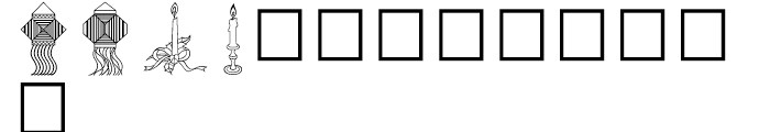 Shree Symbol 2159 Regular Font LOWERCASE