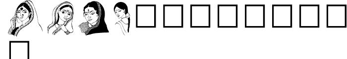 Shree Symbol 2194 Regular Font UPPERCASE