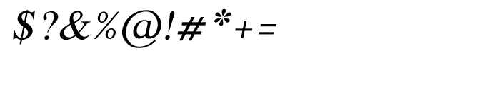 Shree Tamil 1381 Italic Font OTHER CHARS
