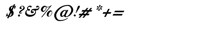 Shree Tamil 1383 Bold Italic Font OTHER CHARS
