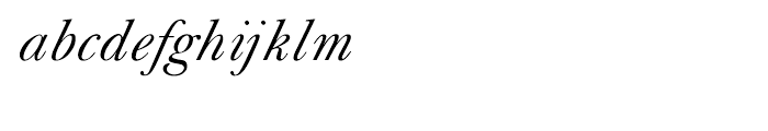 Shree Tamil 3884 Italic Font LOWERCASE