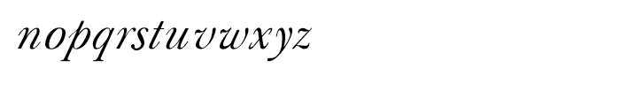 Shree Tamil 3887 Italic Font LOWERCASE
