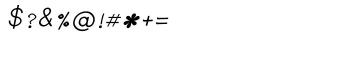 Shree Telugu 1690 Italic Font OTHER CHARS