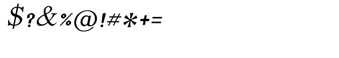 Shree Telugu 1692 Italic Font OTHER CHARS