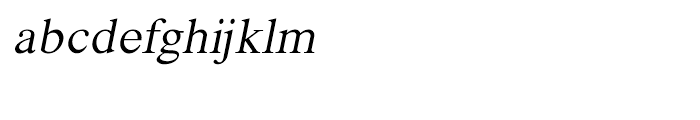 Shree Telugu 1694 Italic Font LOWERCASE