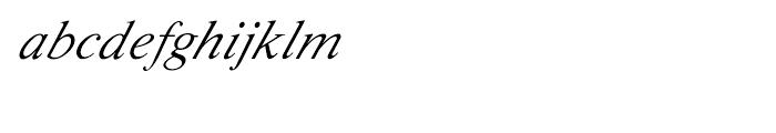 Shree Telugu 2620 Italic Font LOWERCASE