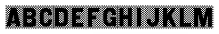Shady Characters JNL Regular Font UPPERCASE
