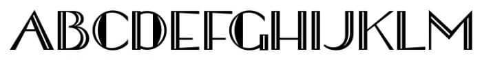 Shareholder JNL Regular Font UPPERCASE