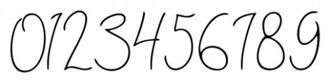 Shartica Script Regular Font OTHER CHARS