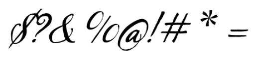 Sherlock Script Pro Font OTHER CHARS