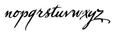 Sherlock Script Pro Font LOWERCASE