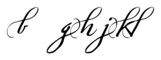 Sherlock Script5 Font LOWERCASE