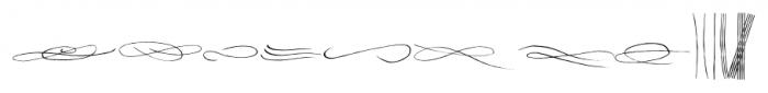 Sherlock Stuff Lines Font UPPERCASE