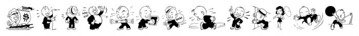 Shinn Kickers JNL Regular Font UPPERCASE