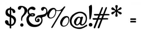 Shipley Regular Font OTHER CHARS