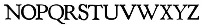 Shipley Regular Font UPPERCASE