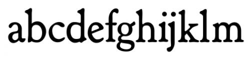 Shipley Regular Font LOWERCASE