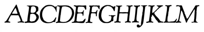 Shipley Rough Italic Alt Font UPPERCASE