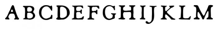 Shipley Rough SC Font LOWERCASE