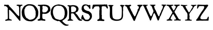 Shipley Rough Font UPPERCASE