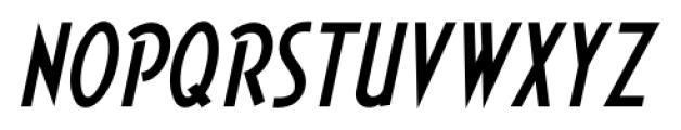 Short Subject JNL Oblique Font LOWERCASE