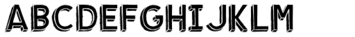 Shababa Ka Font UPPERCASE
