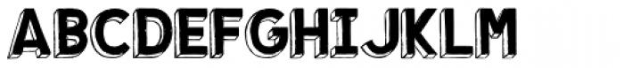 Shababa La Font UPPERCASE