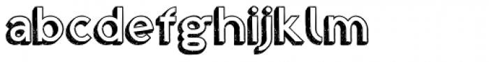 Shababa Font LOWERCASE