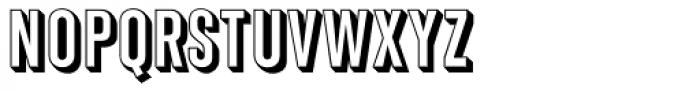 Shadow Gothic Medium Font UPPERCASE