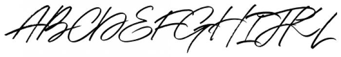 Shadowy Regular Font UPPERCASE