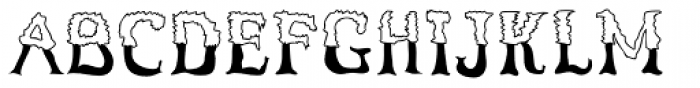 ShadyCharacters Font UPPERCASE