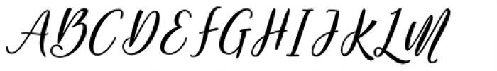 Shakeglow Regular Font UPPERCASE